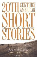 20th Century American Short Stories:...