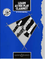 Learn as You Play Clarinet: Tutor Book