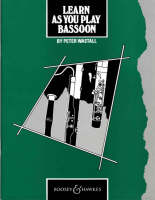 Learn as You Play Bassoon: Tutor Book