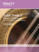 Guitar Exam Pieces Grade 3 2010-2015