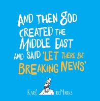 And Then God Created The Middle East...