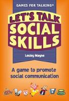 Let's Talk Social Skills: A Game to...