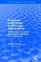 Corporate imperialism: Conflict and...