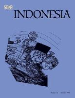 Indonesia Journal: October 1998: 1998