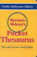 Merriam Webster's Pocket Thesaurus