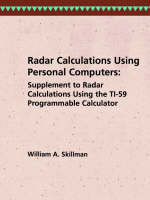 Radar Calculations Using Personal...
