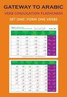 Gateway to Arabic - verb conjugation flashcards (set one: form one verbs)