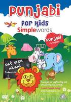 Punjabi for kids DVDs - Simple words