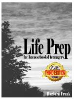 Life Prep for Homeschooled Teenagers,...