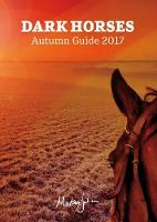 Dark Horses Autumn Guide: 2017