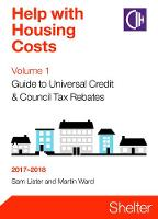 Help With Housing Costs Volume 1:...