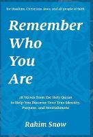 Remember Who You Are: 28 Verses from...