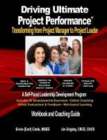 Driving Ultimate Project Performance:...
