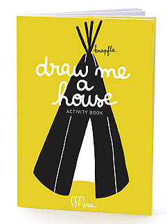 Draw Me a House Activity Book
