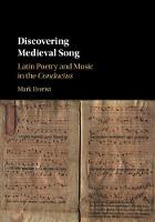 Discovering Medieval Song: Latin...