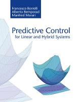 Predictive Control for Linear and...