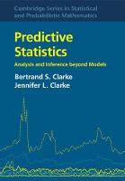 Predictive Statistics: Analysis and...