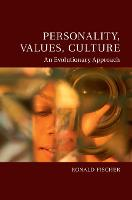 Personality, Values, Culture: An...