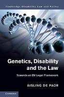 Genetics, Disability and the Law:...
