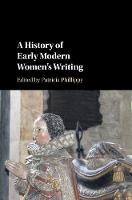 A History of Early Modern Women's...