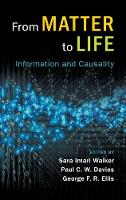 From Matter to Life: Information and...