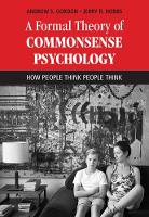 A Formal Theory of Commonsense...