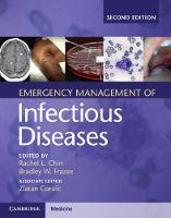 Emergency Management of Infectious...