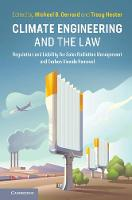 Climate Engineering and the Law:...