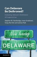 Can Delaware Be Dethroned?: ...