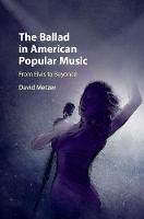 The Ballad in American Popular Music:...