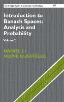 Introduction to Banach Spaces:...