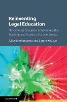 Reinventing Legal Education: How...