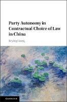Party Autonomy in Contractual Choice...