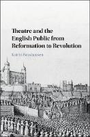 Theatre and the English Public from...