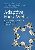 Adaptive Food Webs: Stability and...