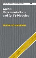 Galois Representations and (Phi,...