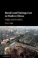 Rural Land Takings Law in Modern...