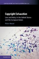 Copyright Exhaustion: Law and Policy...