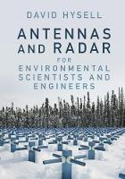 Antennas and Radar for Environmental...