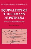 Equivalents of the Riemann ...