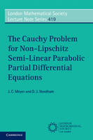 The Cauchy Problem for Non-Lipschitz...
