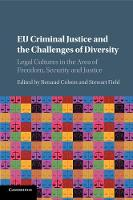 EU Criminal Justice and the ...