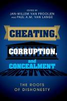 Cheating, Corruption, and ...