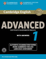 Cambridge English Advanced 1 for...
