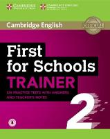 First for Schools Trainer 2 6 ...