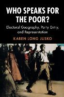 Who Speaks for the Poor?: Electoral...