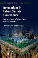 Innovations in Urban Climate...