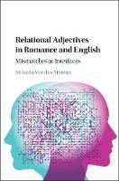 Relational Adjectives in Romance and...
