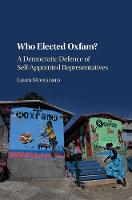 Who Elected Oxfam?: A Democratic...