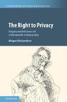 The Right to Privacy: Origins and...